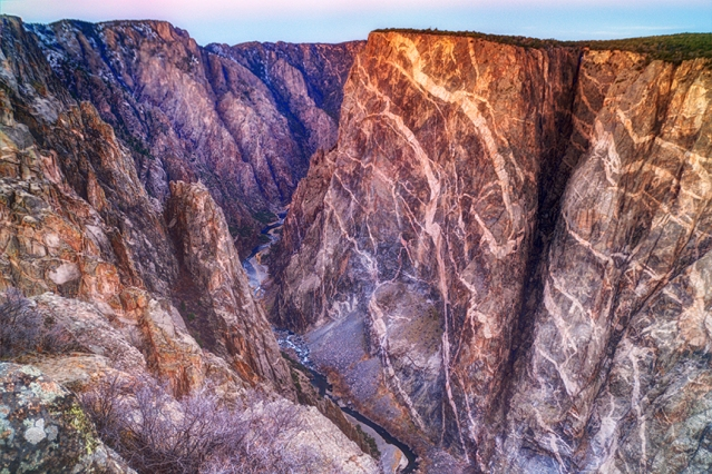 Black Canyon at Dawn