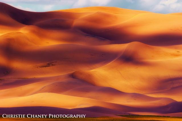 Image of Great Sand Dunes National Park at Dusk